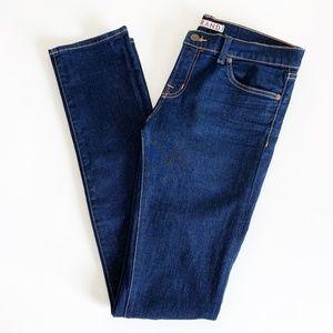 J Brand 912 Pencil Leg Skinny Mid Rise Blue Ink 29